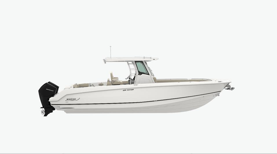 2021 Boston Whaler 330 Outrage #BW1385L inventory image at Sun Country Coastal in Newport Beach
