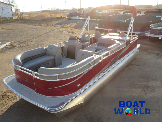 2021 Tahoe GT 2385 Rear Fish Pontoon & Honda 4-Stroke EFI