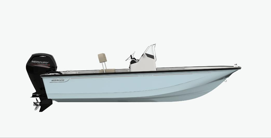 2021 Boston Whaler 170 Montauk #BW1746A inventory image at Sun Country Coastal in Newport Beach