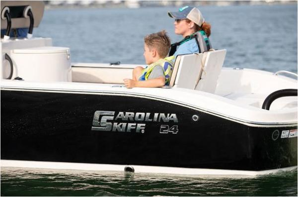 2021 Carolina Skiff boat for sale, model of the boat is 24 Ultra & Image # 2 of 3