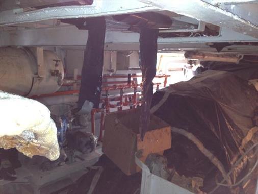 1972 118' Custom Halter Conversion MY - Engine Room