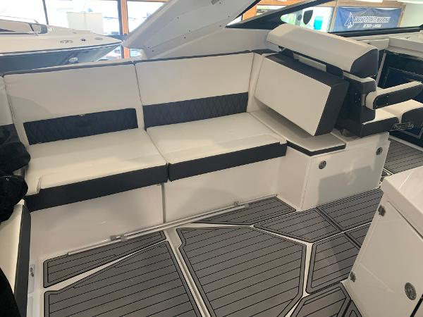 2021 Monterey boat for sale, model of the boat is 378 Super Express & Image # 12 of 53
