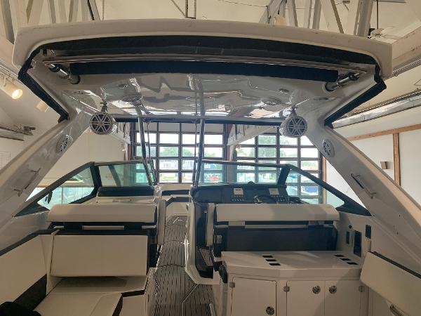 2021 Monterey boat for sale, model of the boat is 378 Super Express & Image # 40 of 53