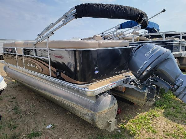 2014 Godfrey Pontoon boat for sale, model of the boat is Sweetwater 2286 & Image # 4 of 16