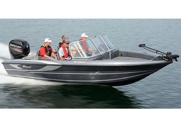 2018 Triton boat for sale, model of the boat is 186 Allure & Image # 5 of 7