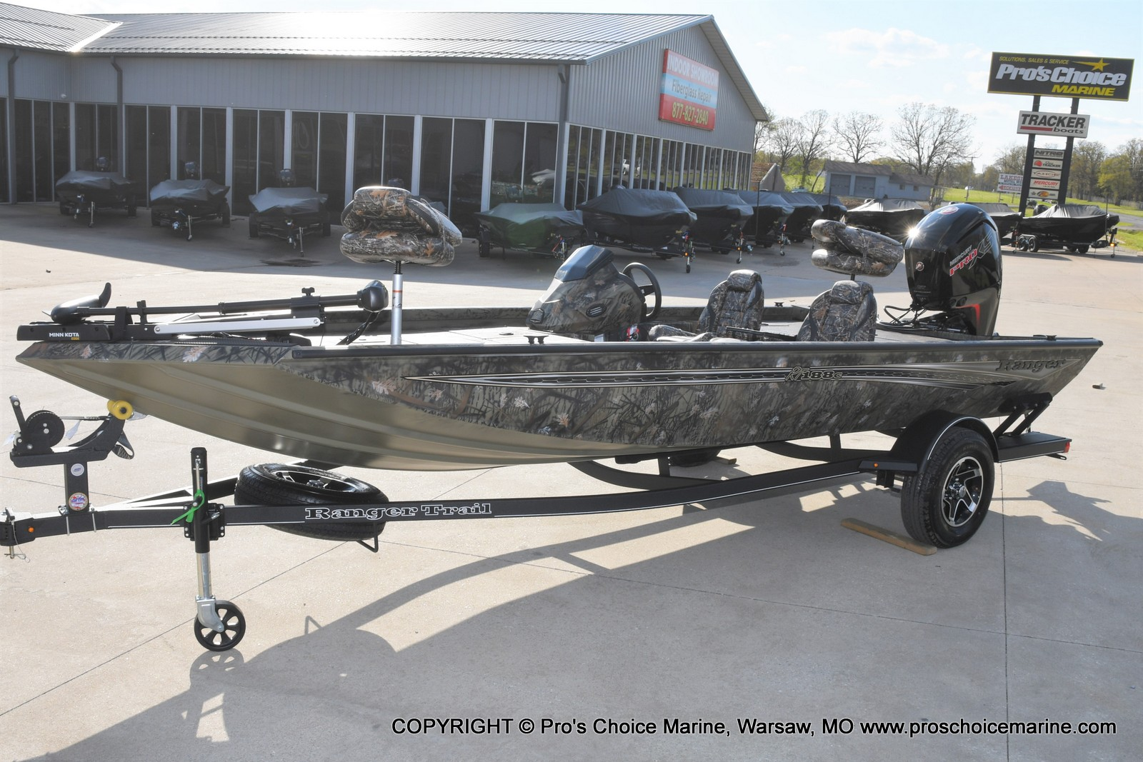 2021 Ranger Boats boat for sale, model of the boat is RT188C w/115HP Mercury Pro-XS Command Thrust & Image # 17 of 50