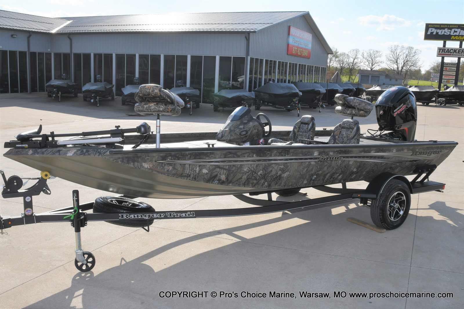 2021 Ranger Boats boat for sale, model of the boat is RT188C w/115HP Mercury Pro-XS Command Thrust & Image # 38 of 50