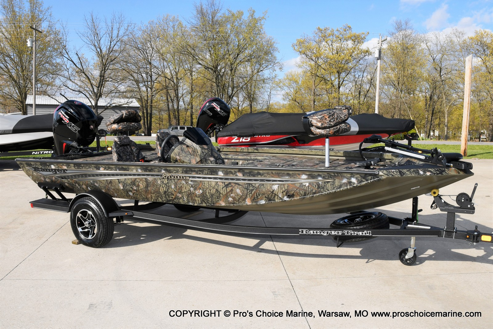 2021 Ranger Boats boat for sale, model of the boat is RT188C w/115HP Mercury Pro-XS Command Thrust & Image # 50 of 50