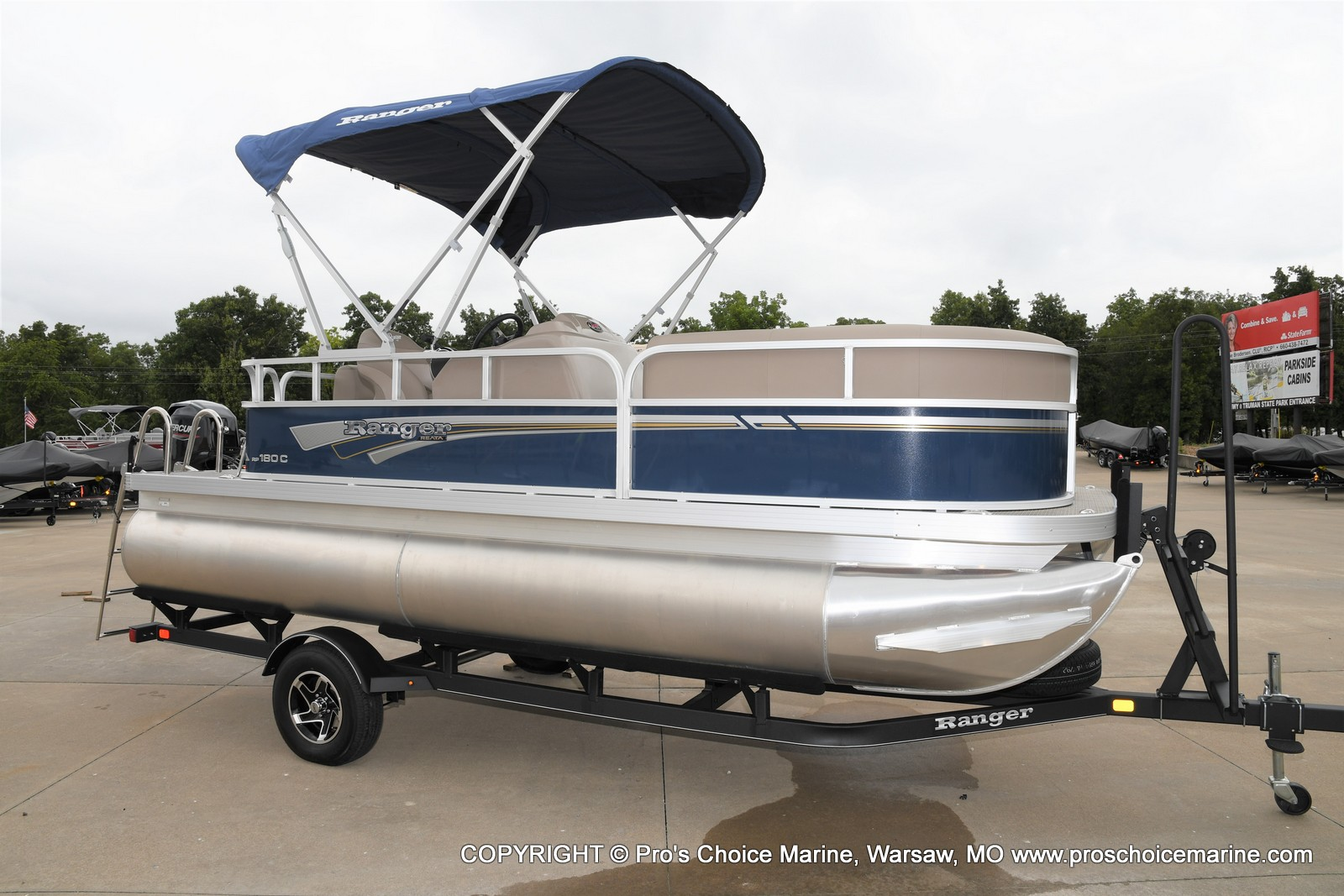 2021 Ranger Boats boat for sale, model of the boat is 180C CRUISE & Image # 1 of 48