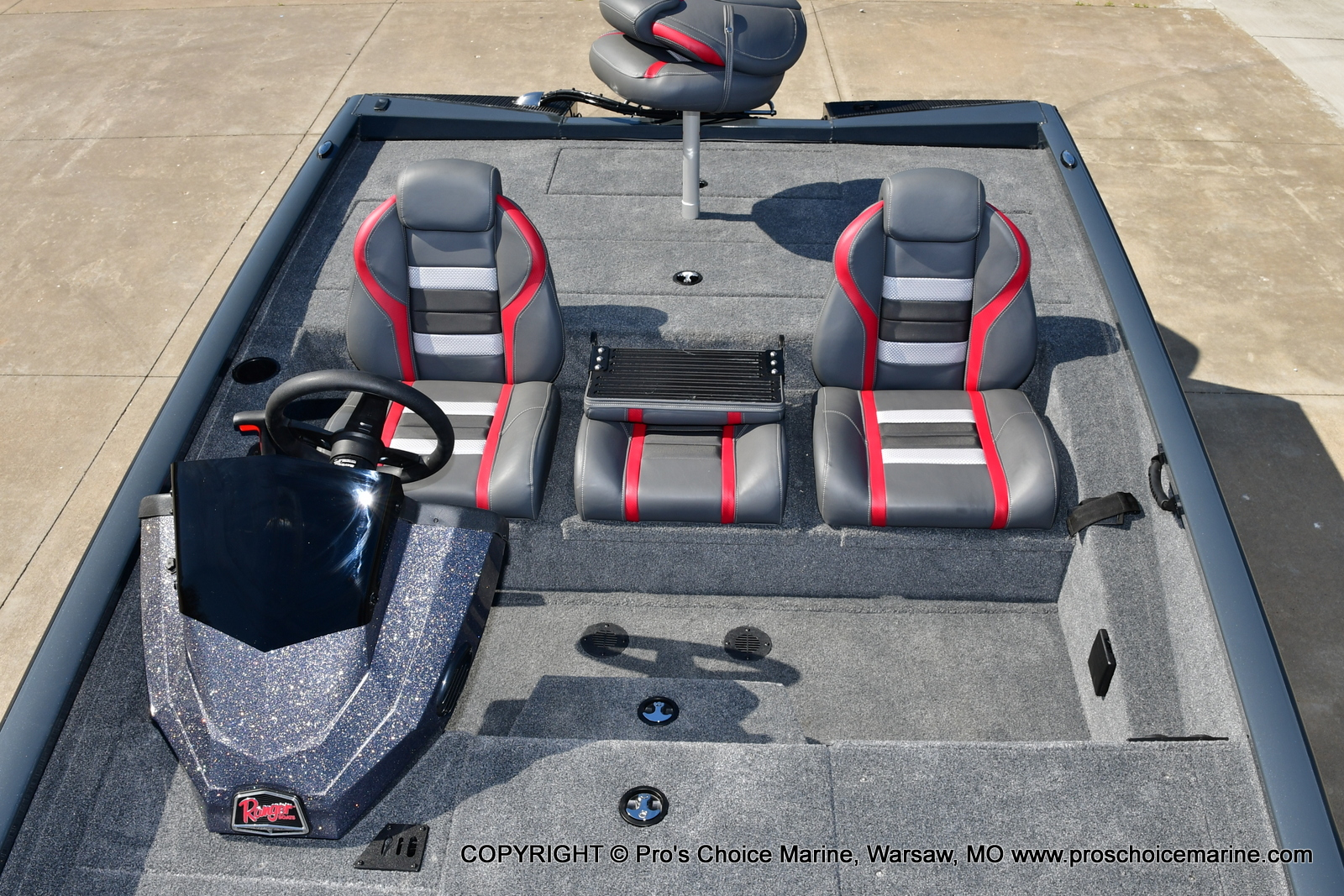 2021 Ranger Boats boat for sale, model of the boat is RT188P w/115HP Pro-XS Command Thrust & Image # 9 of 50