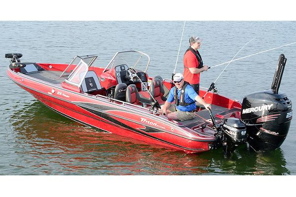 2018 Triton boat for sale, model of the boat is 206 Fishunter & Image # 2 of 6