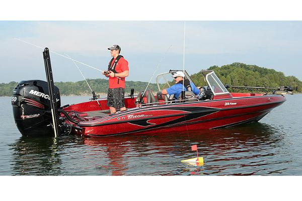 2018 Triton boat for sale, model of the boat is 206 Fishunter & Image # 3 of 6