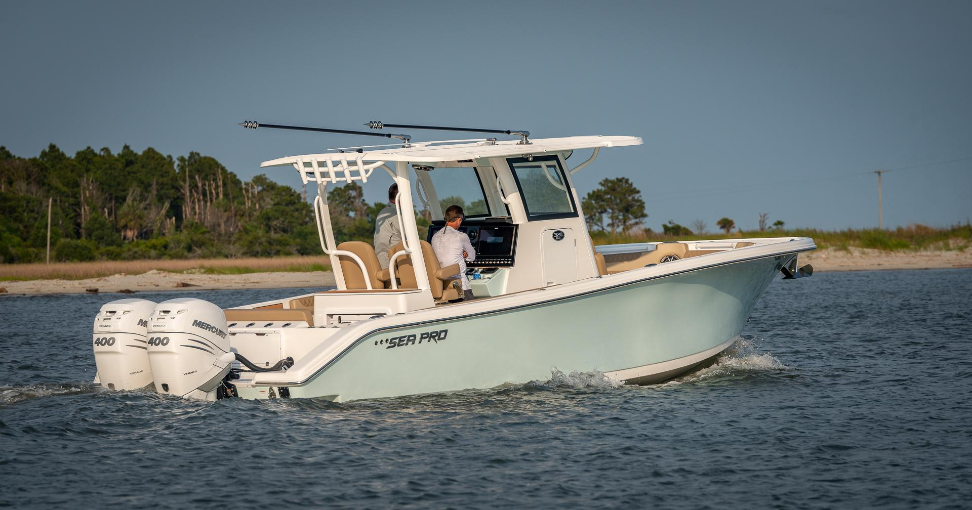 Image of 2022 Sea Pro 320CC DLX