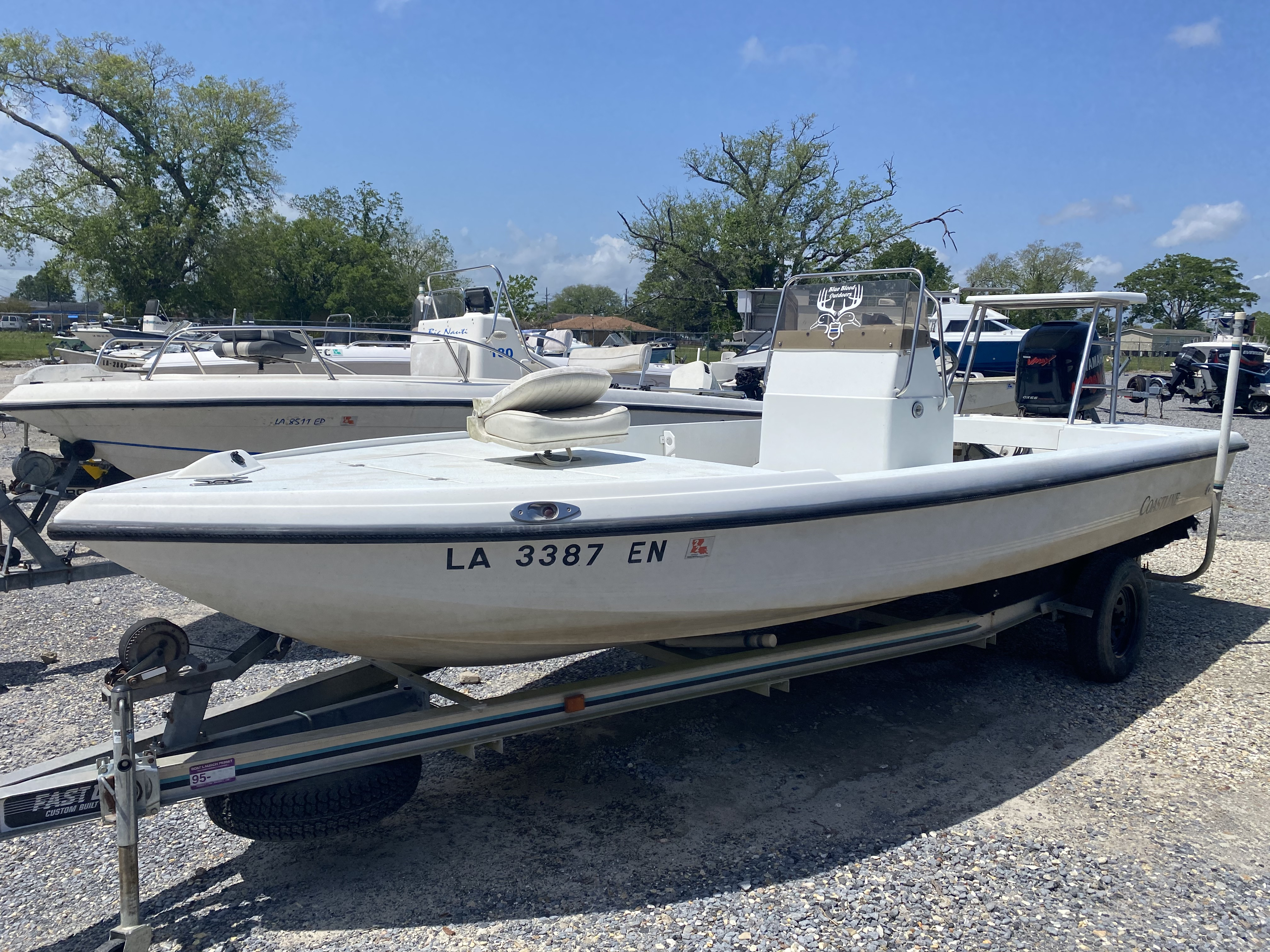 1995 Action Craft boat for sale, model of the boat is 21 & Image # 1 of 5