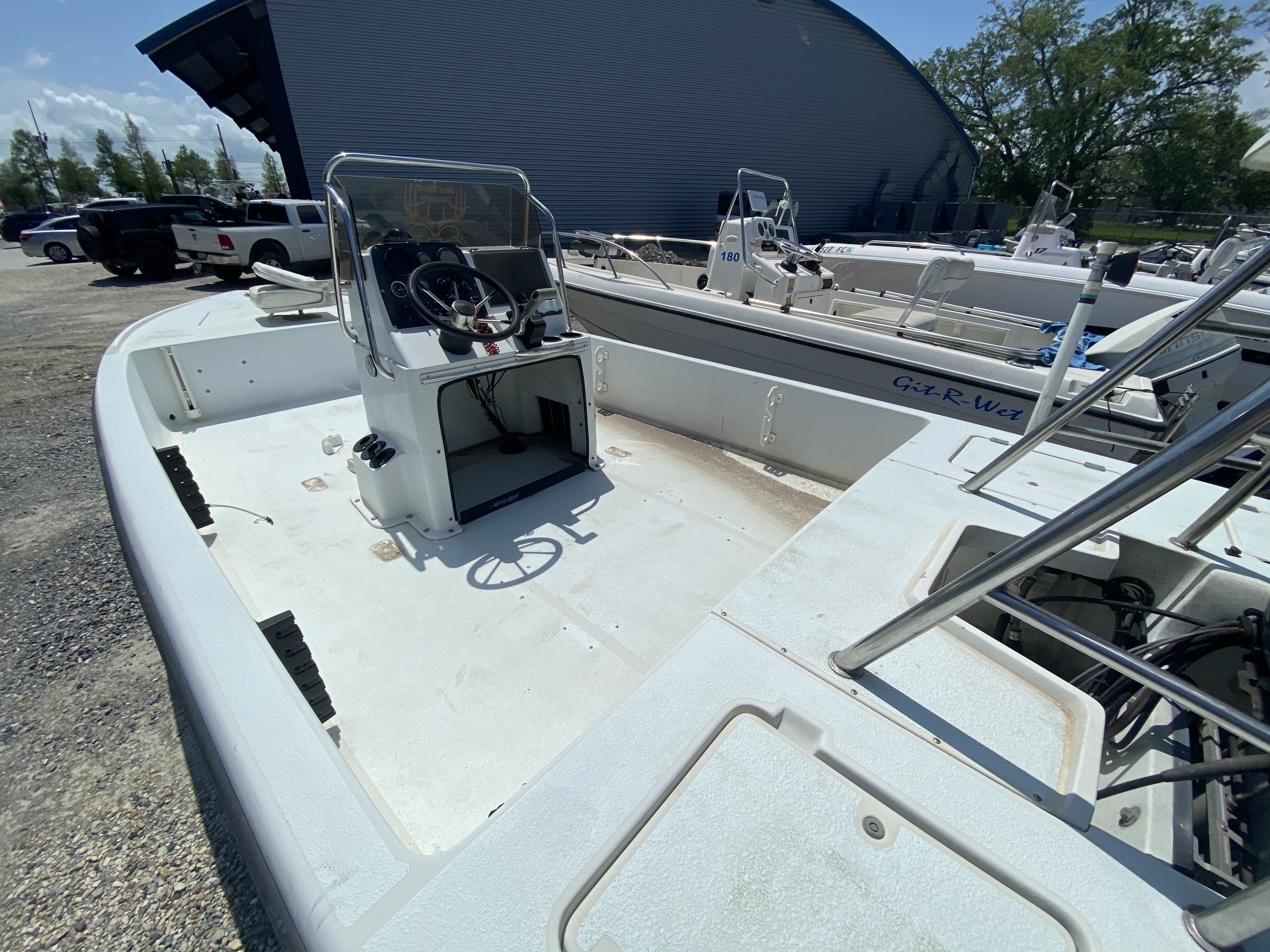 1995 Action Craft boat for sale, model of the boat is 21 & Image # 4 of 5