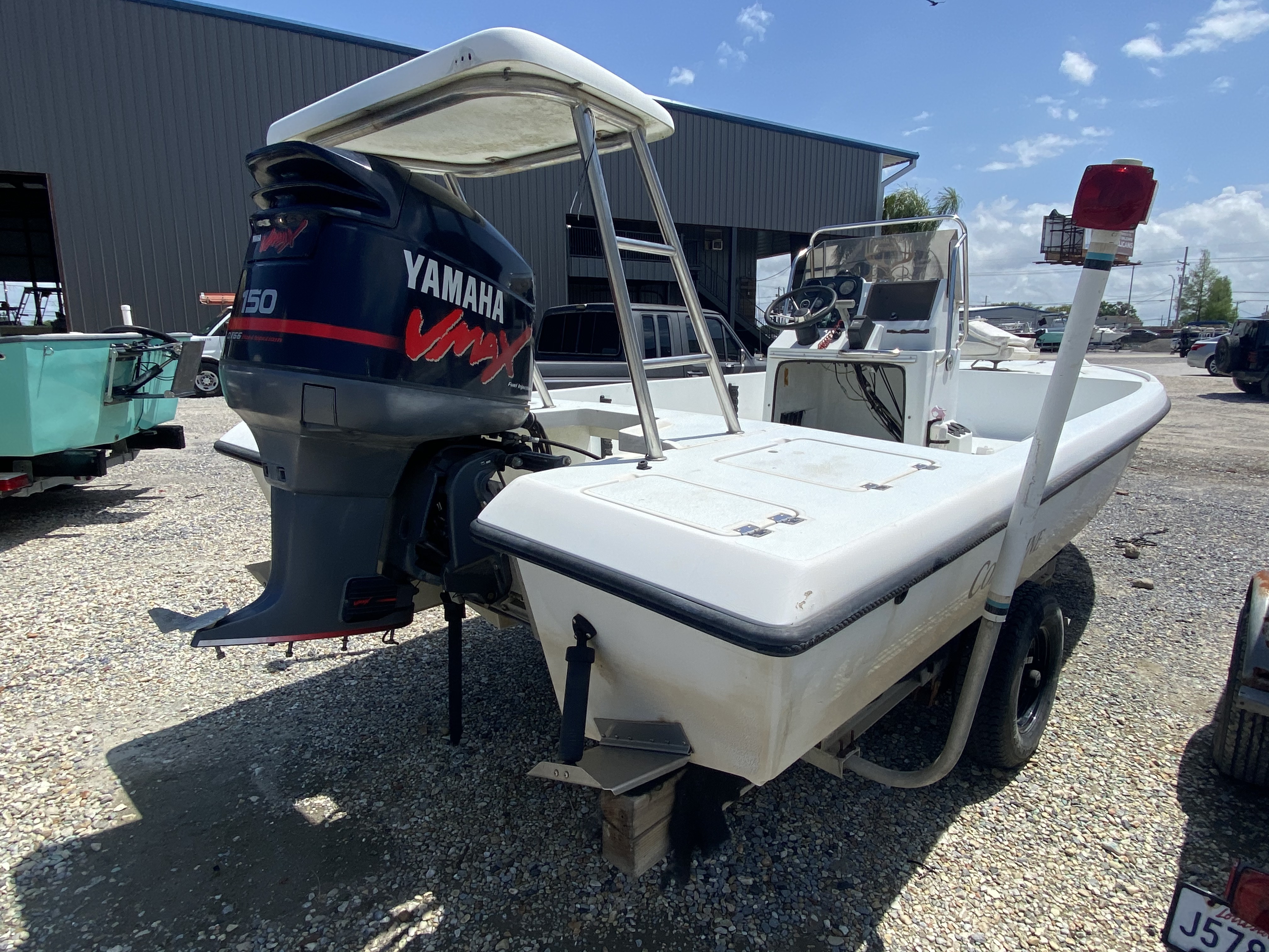1995 Action Craft boat for sale, model of the boat is 21 & Image # 5 of 5