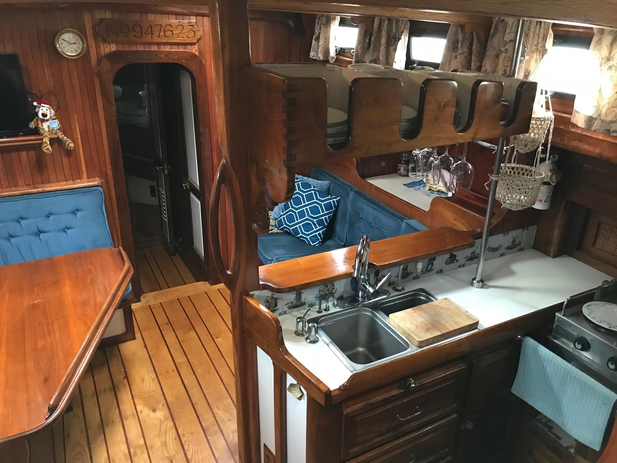 Galley and china storage