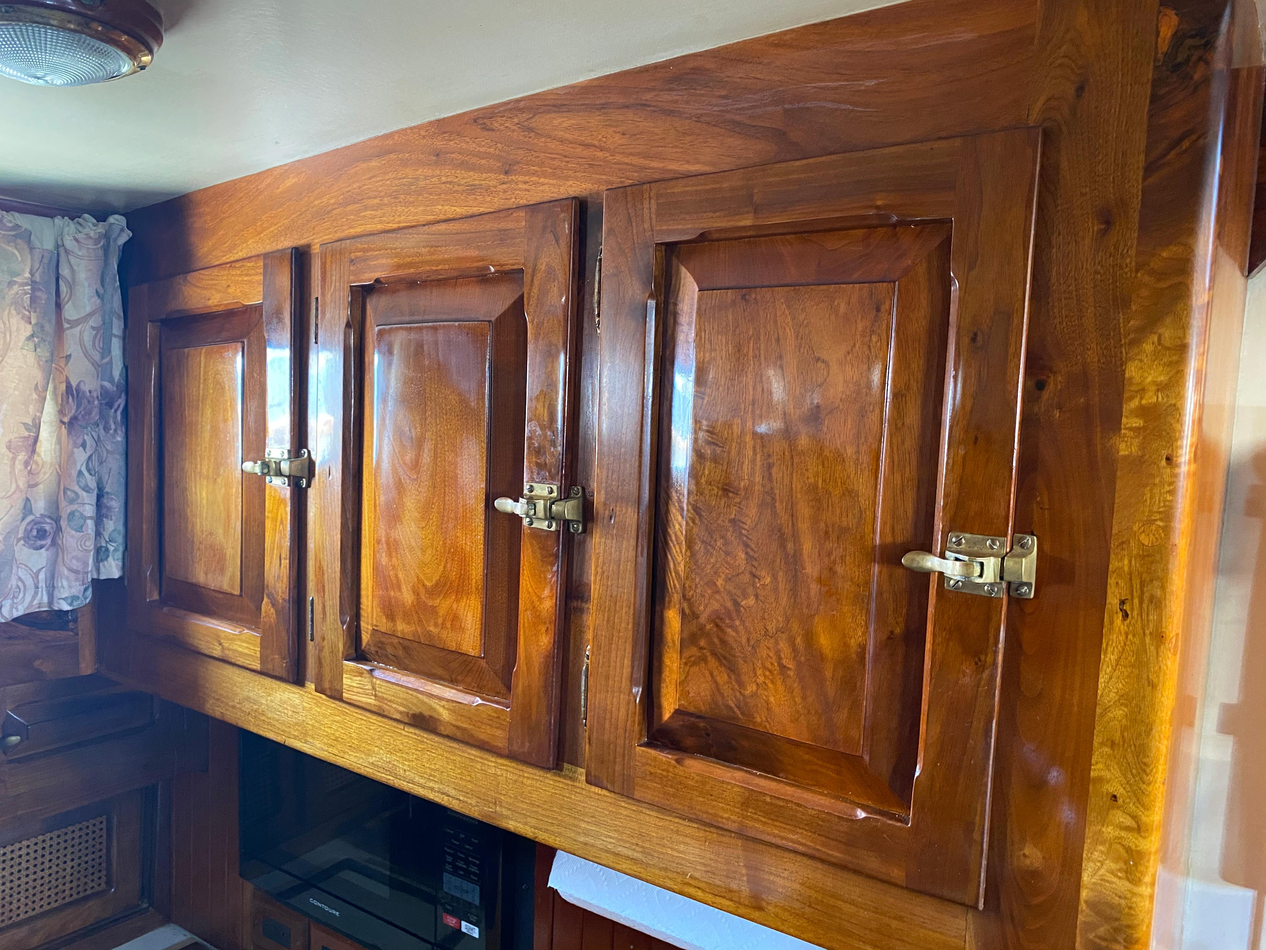 Galley Cabinetry Detail
