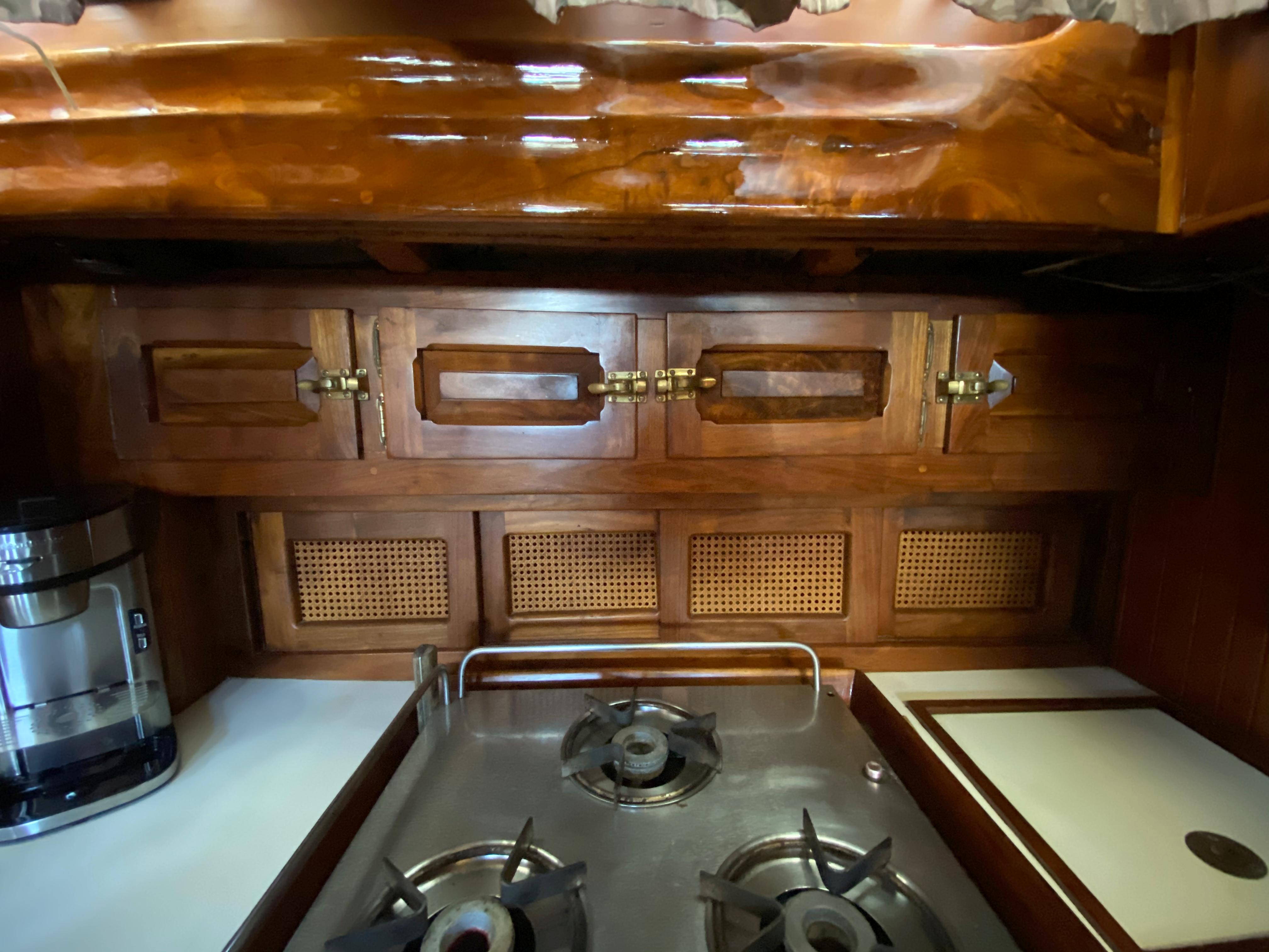 Galley Storage and Cabinetry