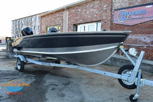 2021 Lund boat for sale, model of the boat is 1600 Fury Tiller & Image # 1 of 34
