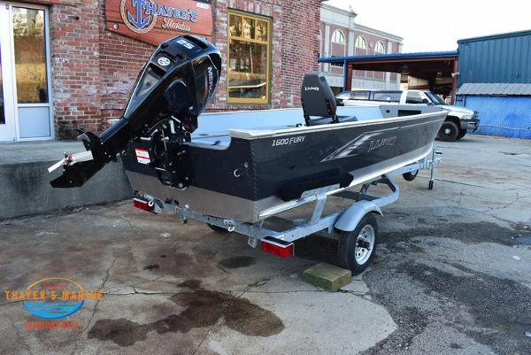 2021 Lund boat for sale, model of the boat is 1600 Fury Tiller & Image # 4 of 34