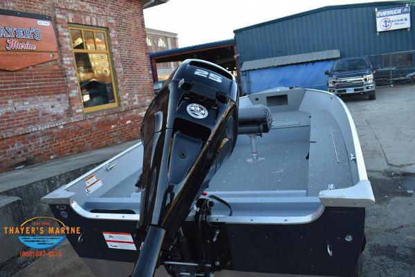 2021 Lund boat for sale, model of the boat is 1600 Fury Tiller & Image # 6 of 34