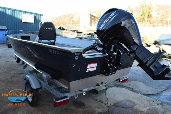 2021 Lund boat for sale, model of the boat is 1600 Fury Tiller & Image # 8 of 34