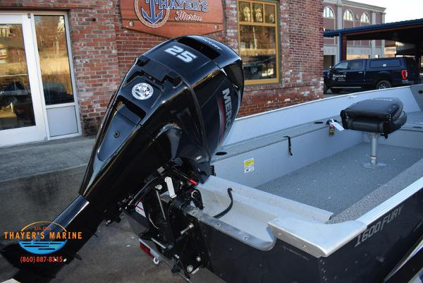 2021 Lund boat for sale, model of the boat is 1600 Fury Tiller & Image # 13 of 34