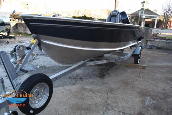 2021 Lund boat for sale, model of the boat is 1600 Fury Tiller & Image # 14 of 34