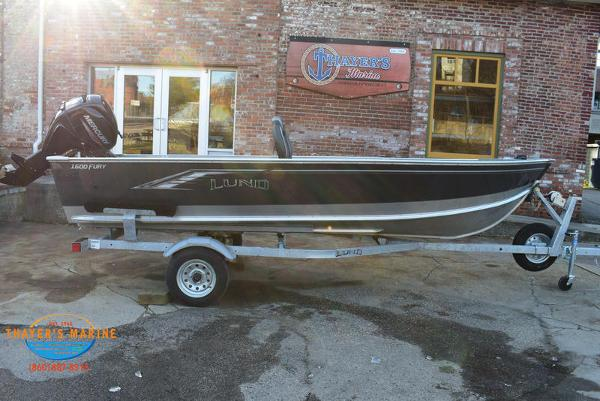 2021 Lund boat for sale, model of the boat is 1600 Fury Tiller & Image # 23 of 34