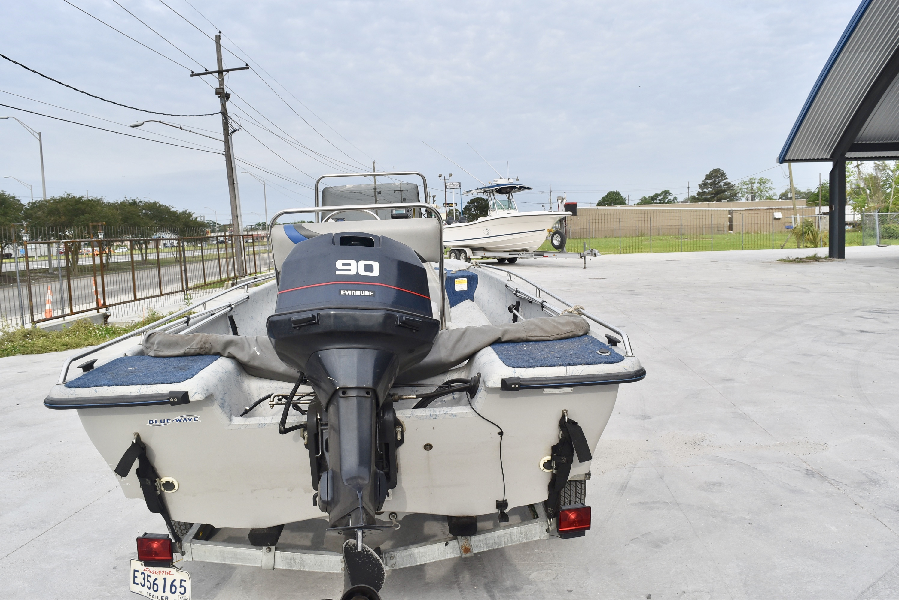 1998 Blue Wave boat for sale, model of the boat is 165 Classic & Image # 7 of 7