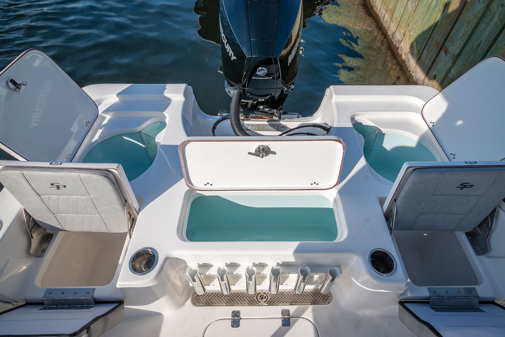 2021 Sea Pro boat for sale, model of the boat is 208 DLX Bay Boat & Image # 5 of 8