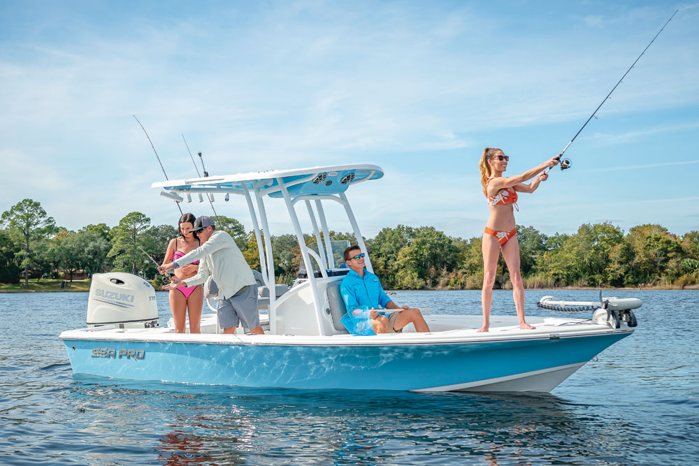2021 Sea Pro boat for sale, model of the boat is 208 DLX Bay Boat & Image # 8 of 8