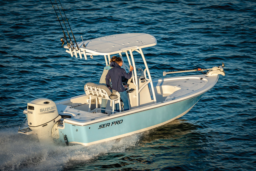2021 Sea Pro boat for sale, model of the boat is 208 DLX Bay Boat & Image # 1 of 8
