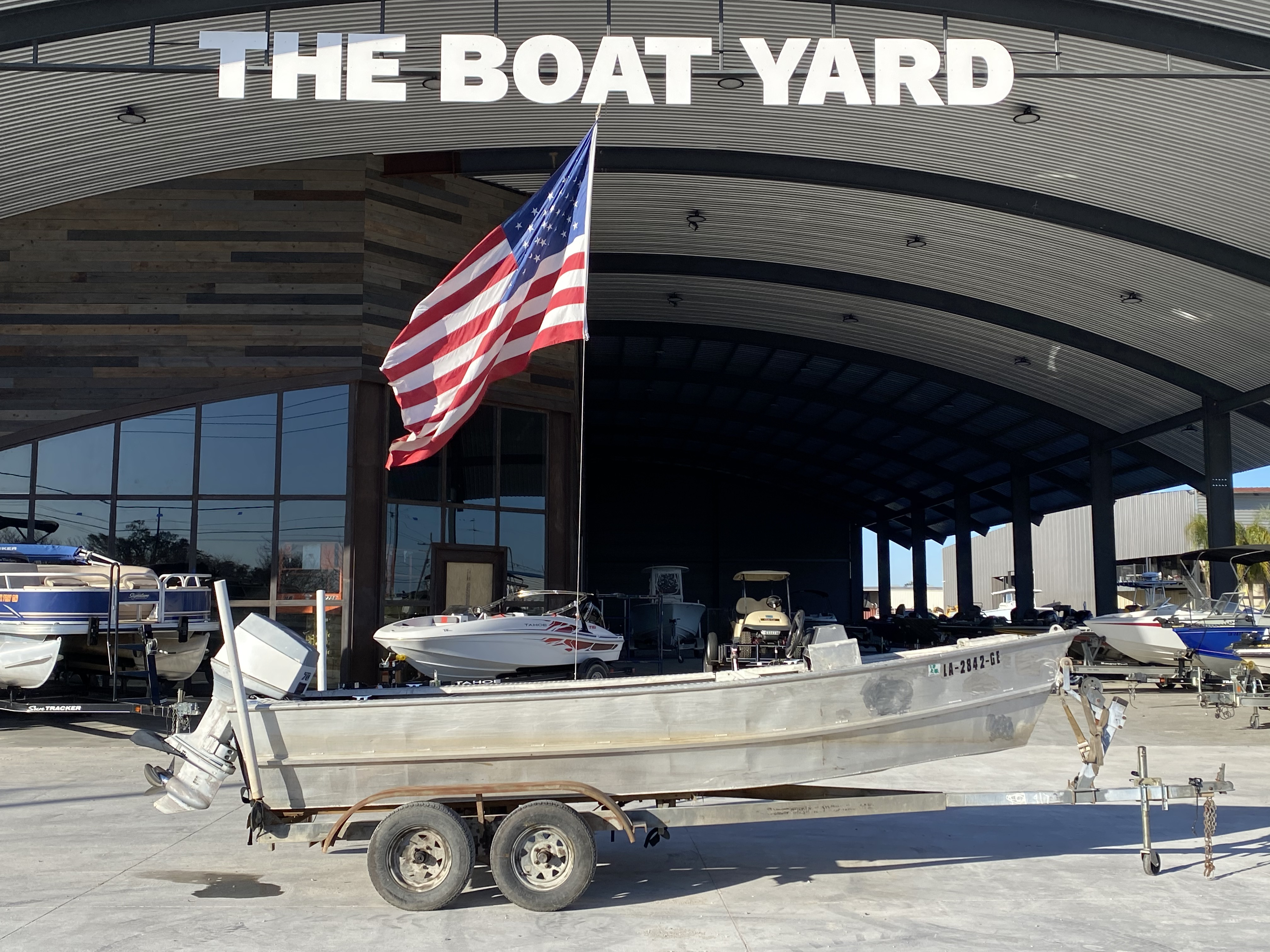 1993 Gravois boat for sale, model of the boat is 17 Skiff & Image # 1 of 8