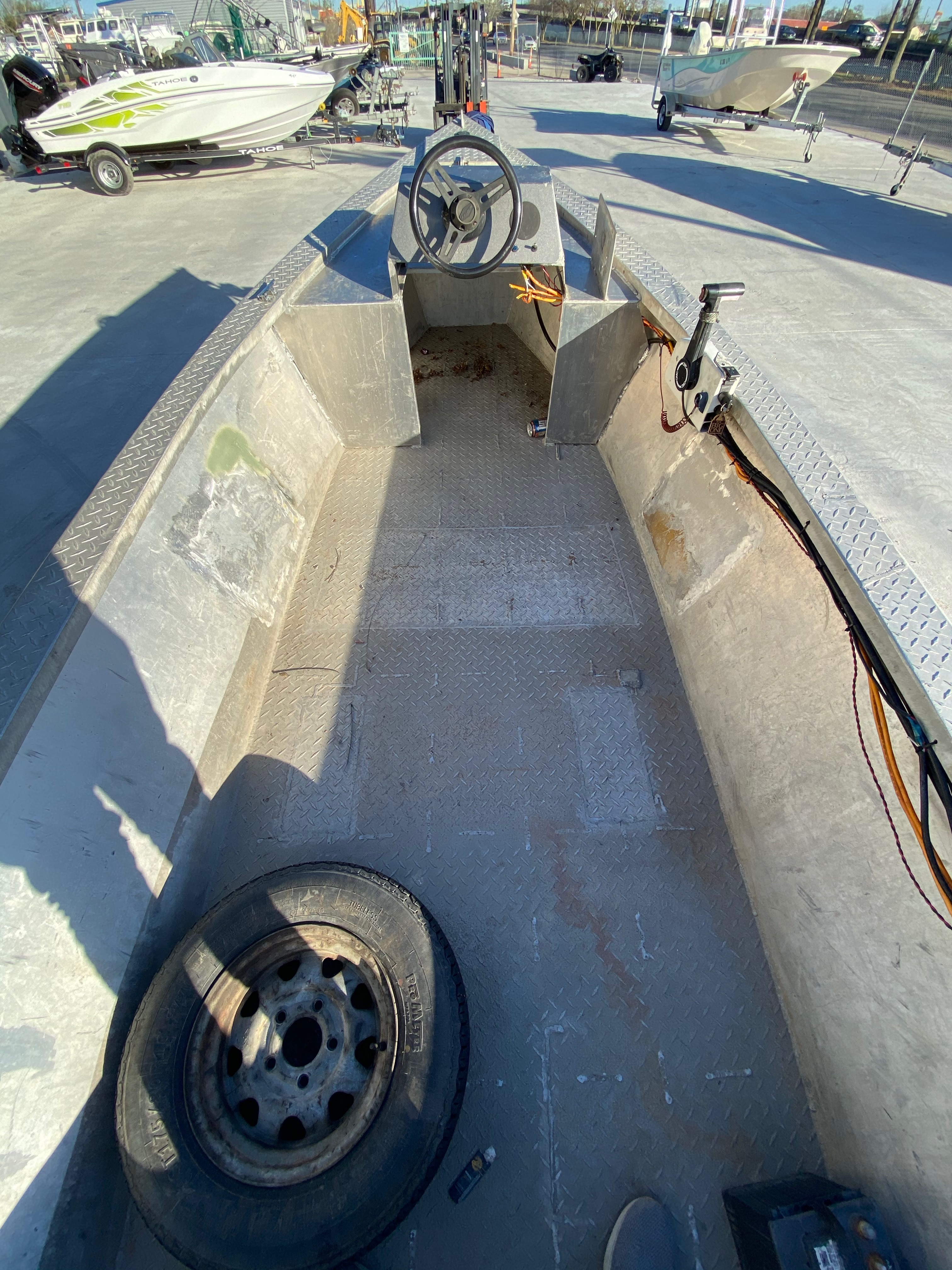 1993 Gravois boat for sale, model of the boat is 17 Skiff & Image # 4 of 8