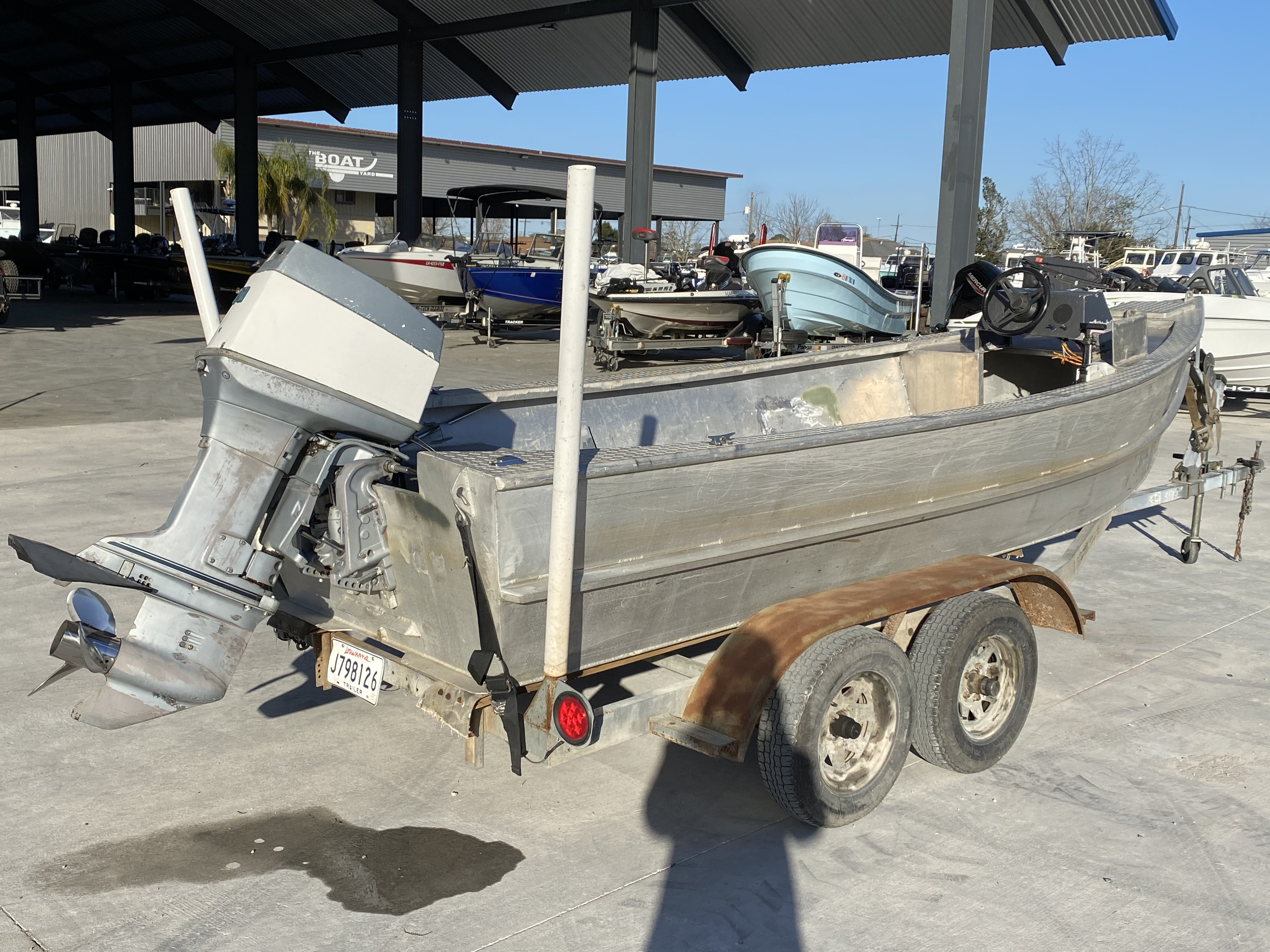 1993 Gravois boat for sale, model of the boat is 17 Skiff & Image # 5 of 8