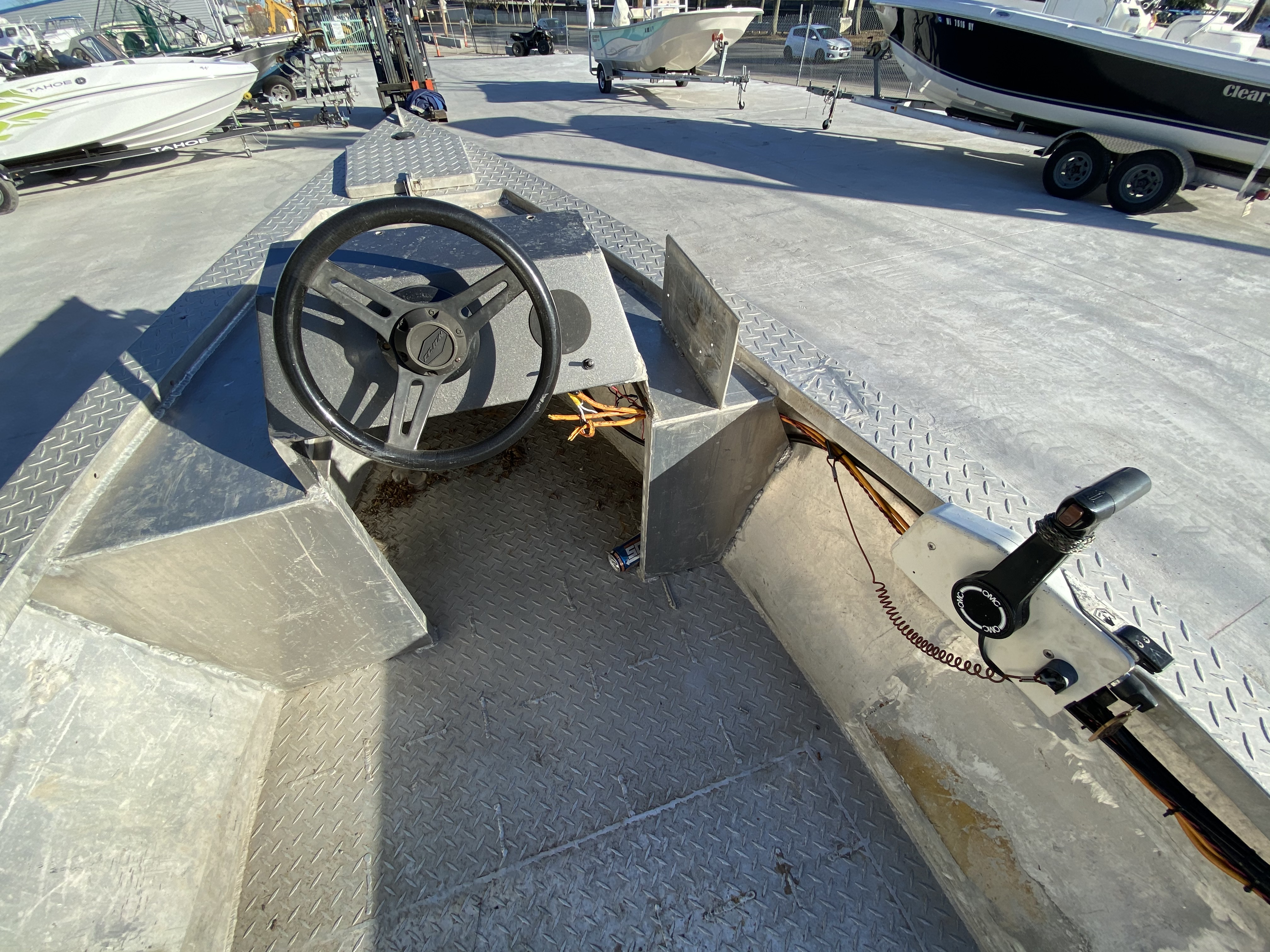1993 Gravois boat for sale, model of the boat is 17 Skiff & Image # 6 of 8