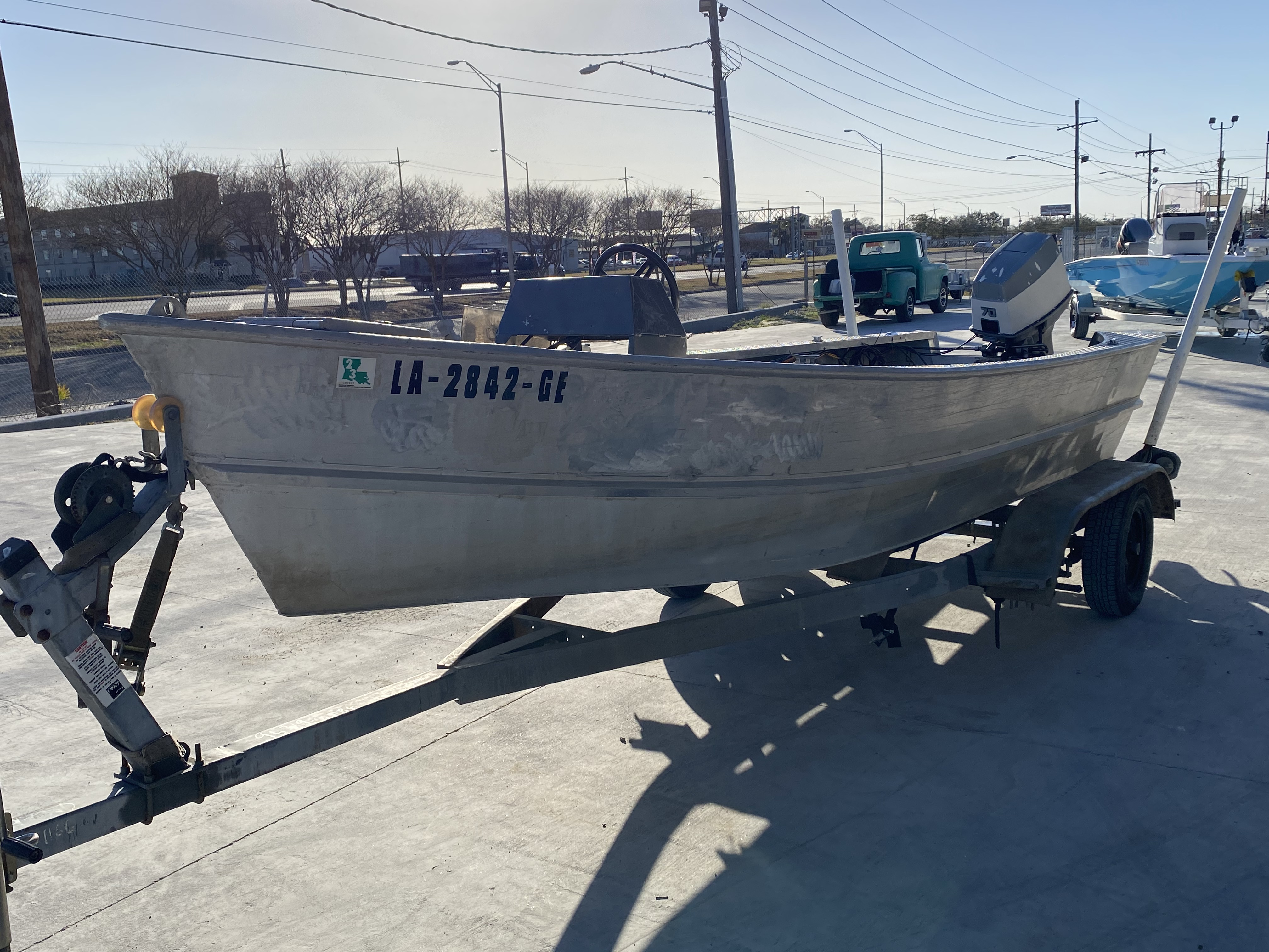 1993 Gravois boat for sale, model of the boat is 17 Skiff & Image # 7 of 8