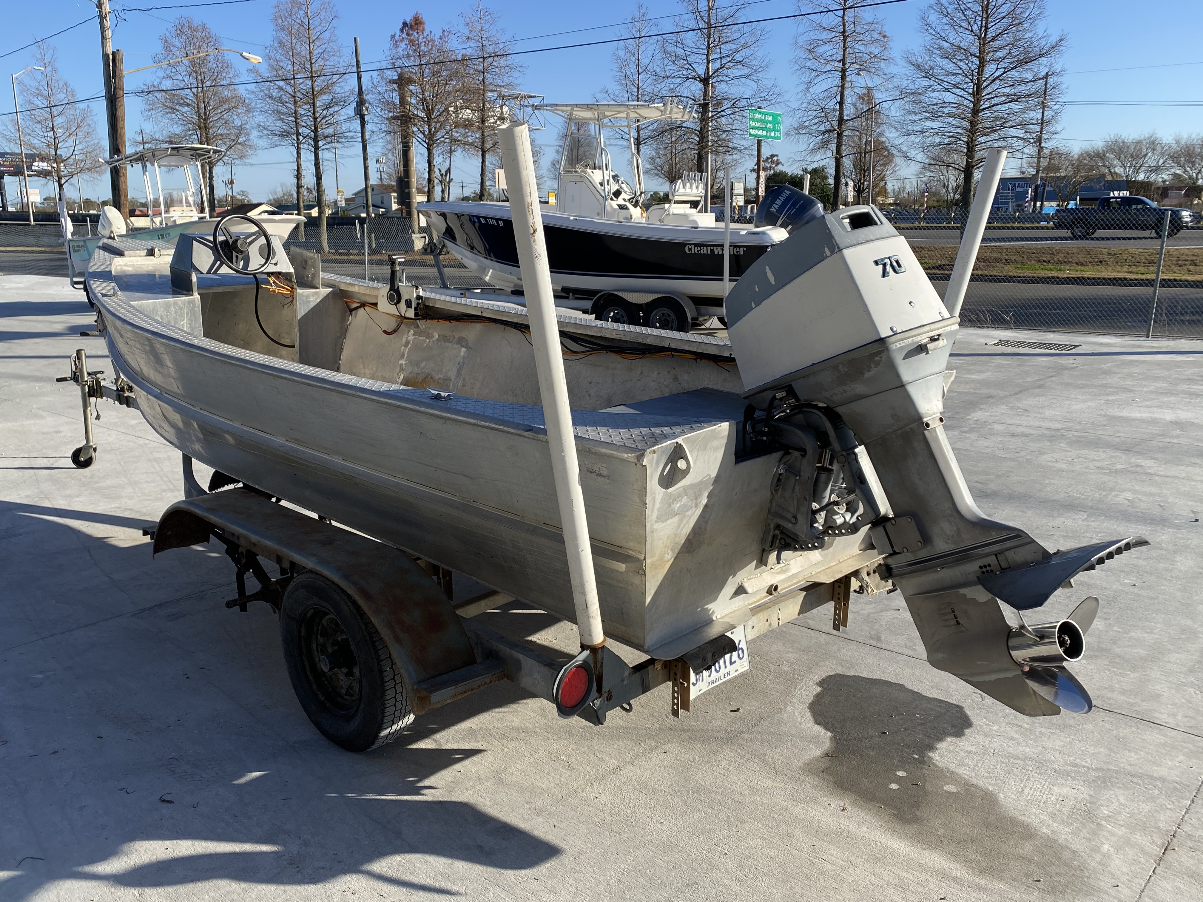 1993 Gravois boat for sale, model of the boat is 17 Skiff & Image # 8 of 8