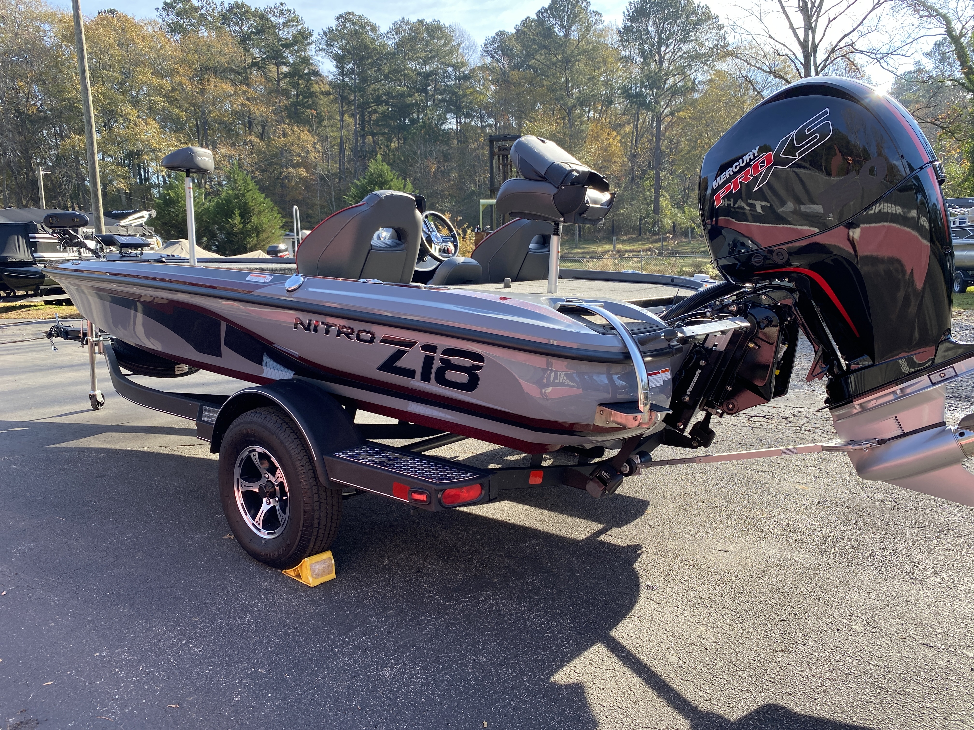 2021 Nitro boat for sale, model of the boat is Z18 H1 & Image # 4 of 28
