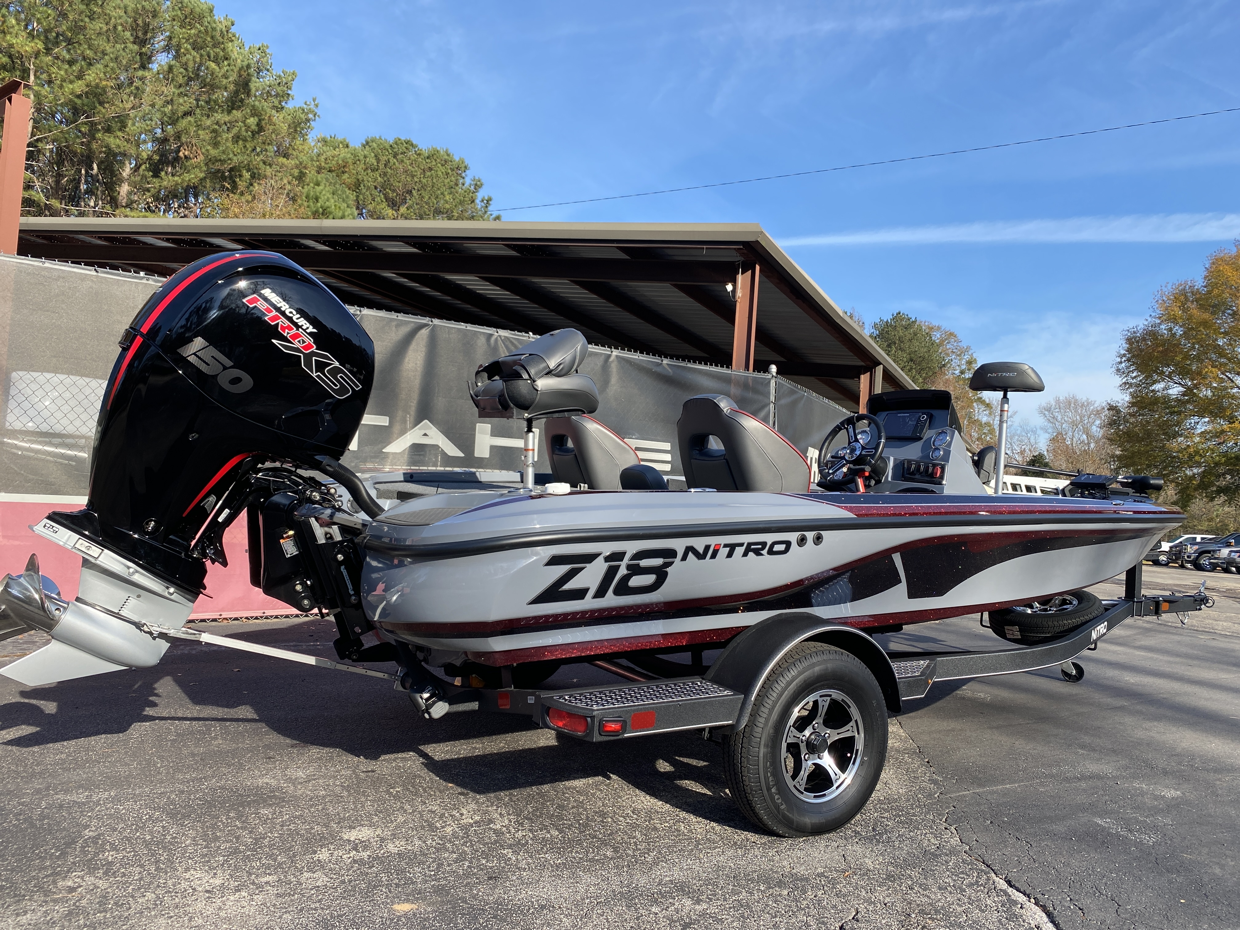 2021 Nitro boat for sale, model of the boat is Z18 H1 & Image # 7 of 28