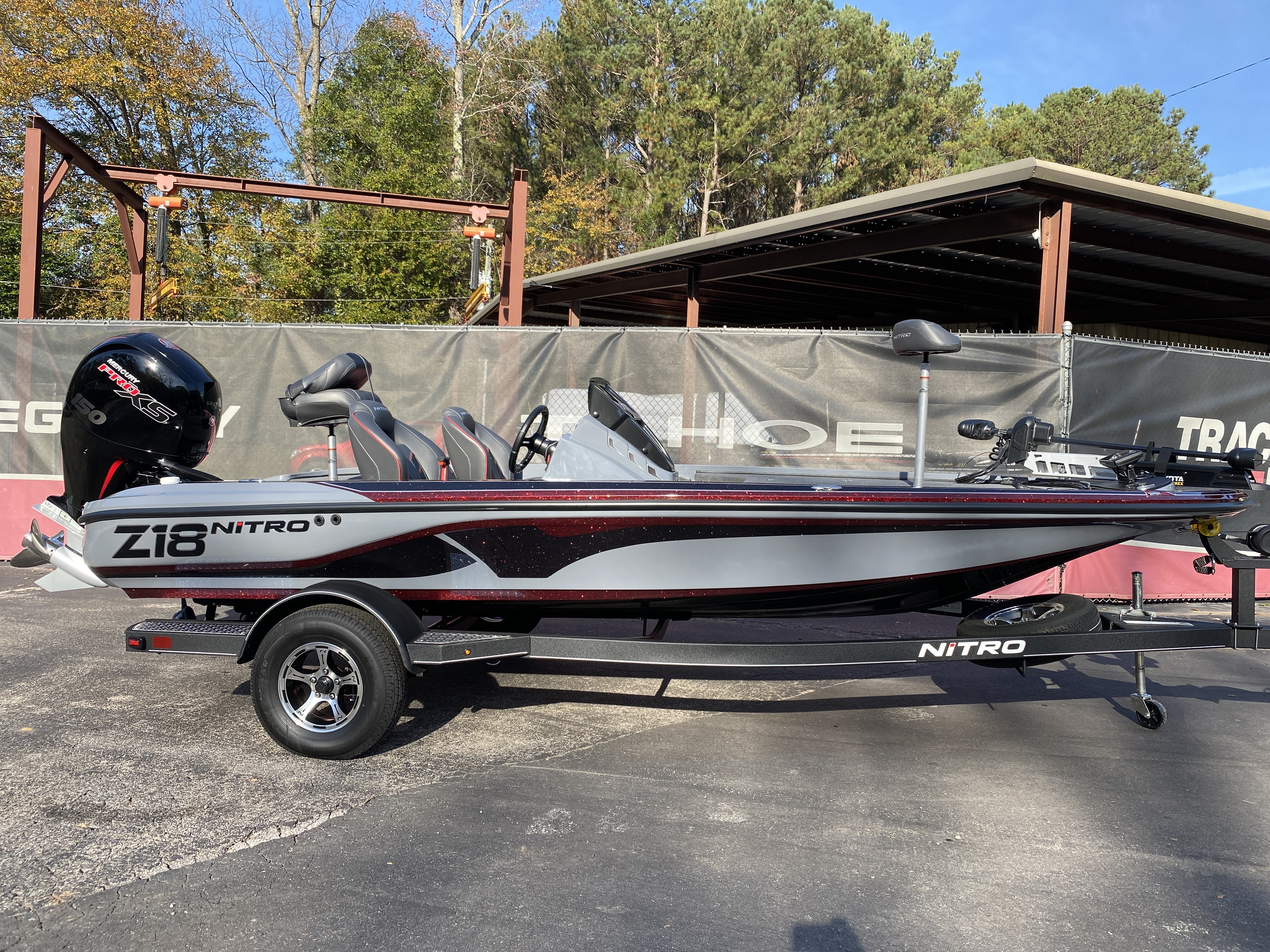 2021 Nitro boat for sale, model of the boat is Z18 H1 & Image # 14 of 28