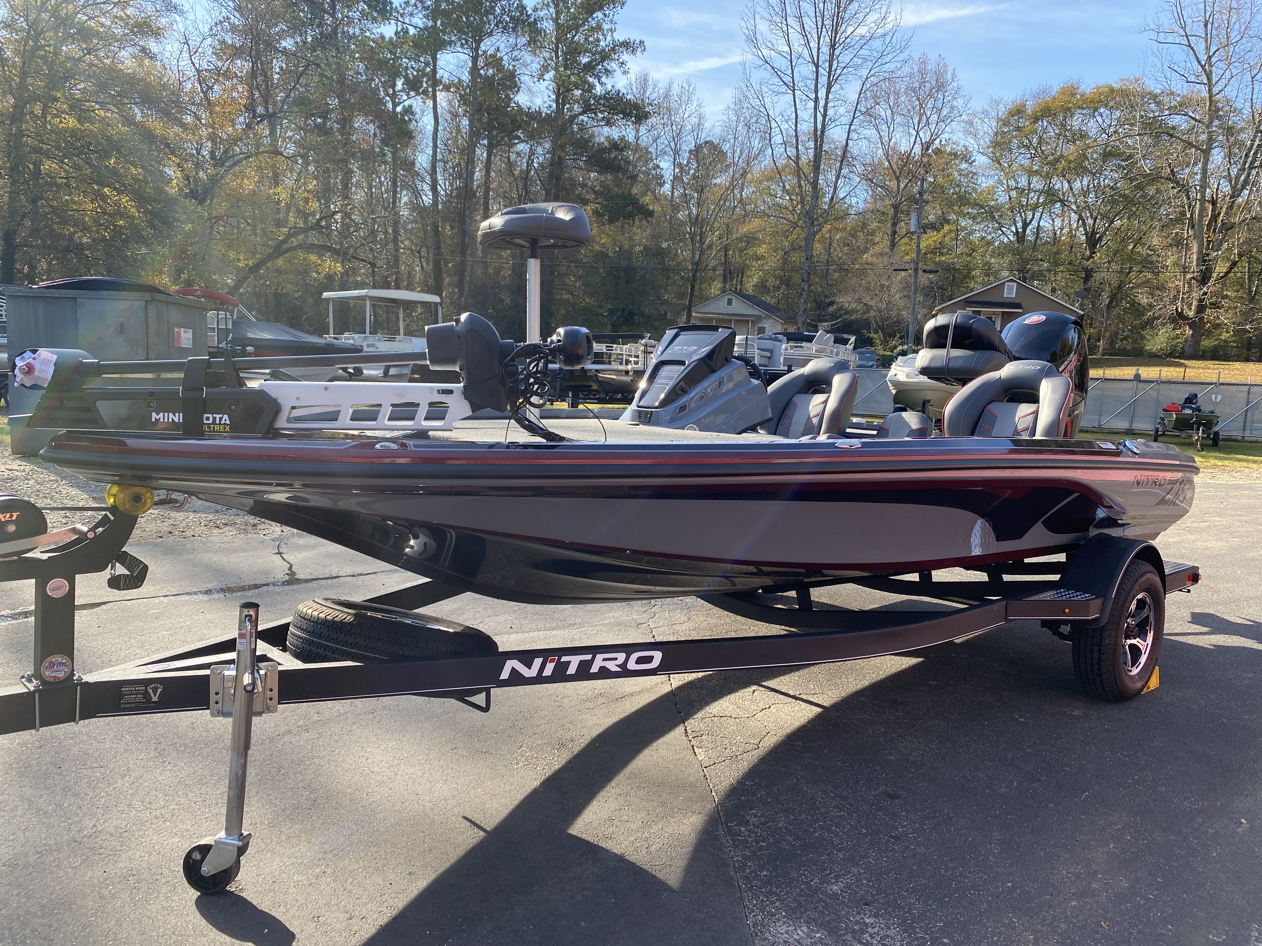 2021 Nitro boat for sale, model of the boat is Z18 H1 & Image # 18 of 28
