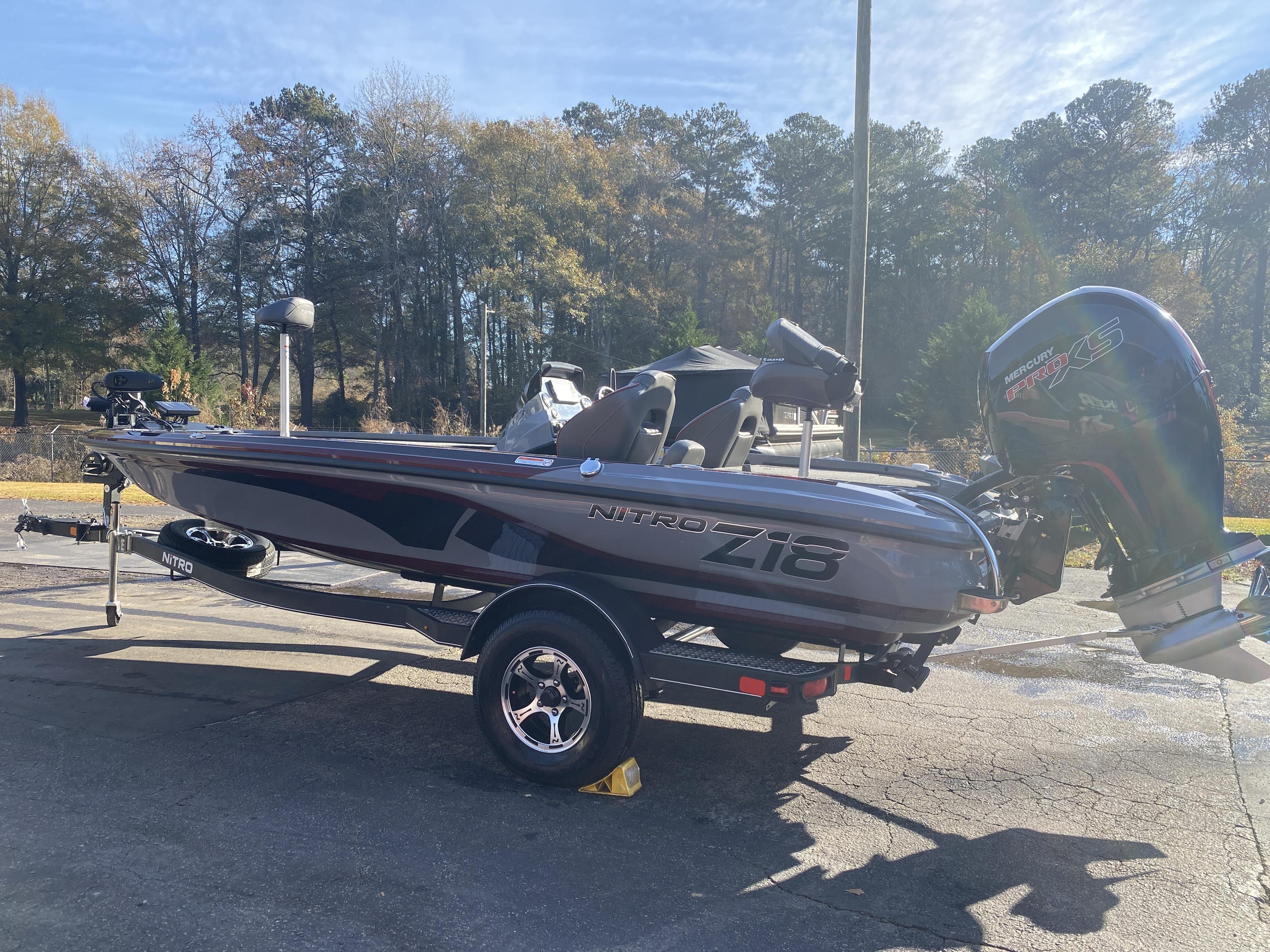2021 Nitro boat for sale, model of the boat is Z18 H1 & Image # 27 of 28