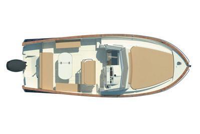 Rhea Marine Open 27 Escapade deck plan