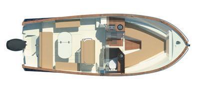 Rhea Marine Open 27 Escapade plan