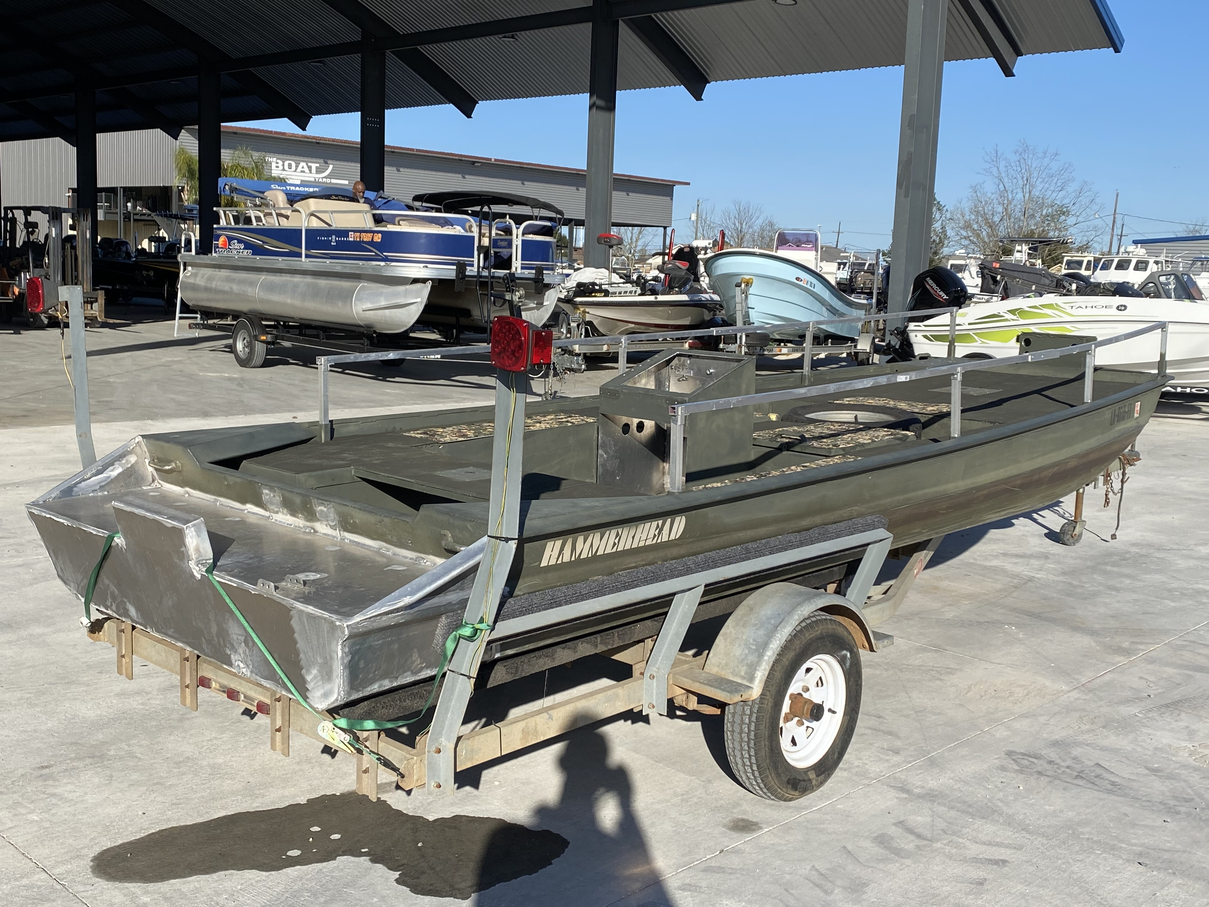 2009 Custom boat for sale, model of the boat is 1860 HULL & TRAILER & Image # 2 of 11