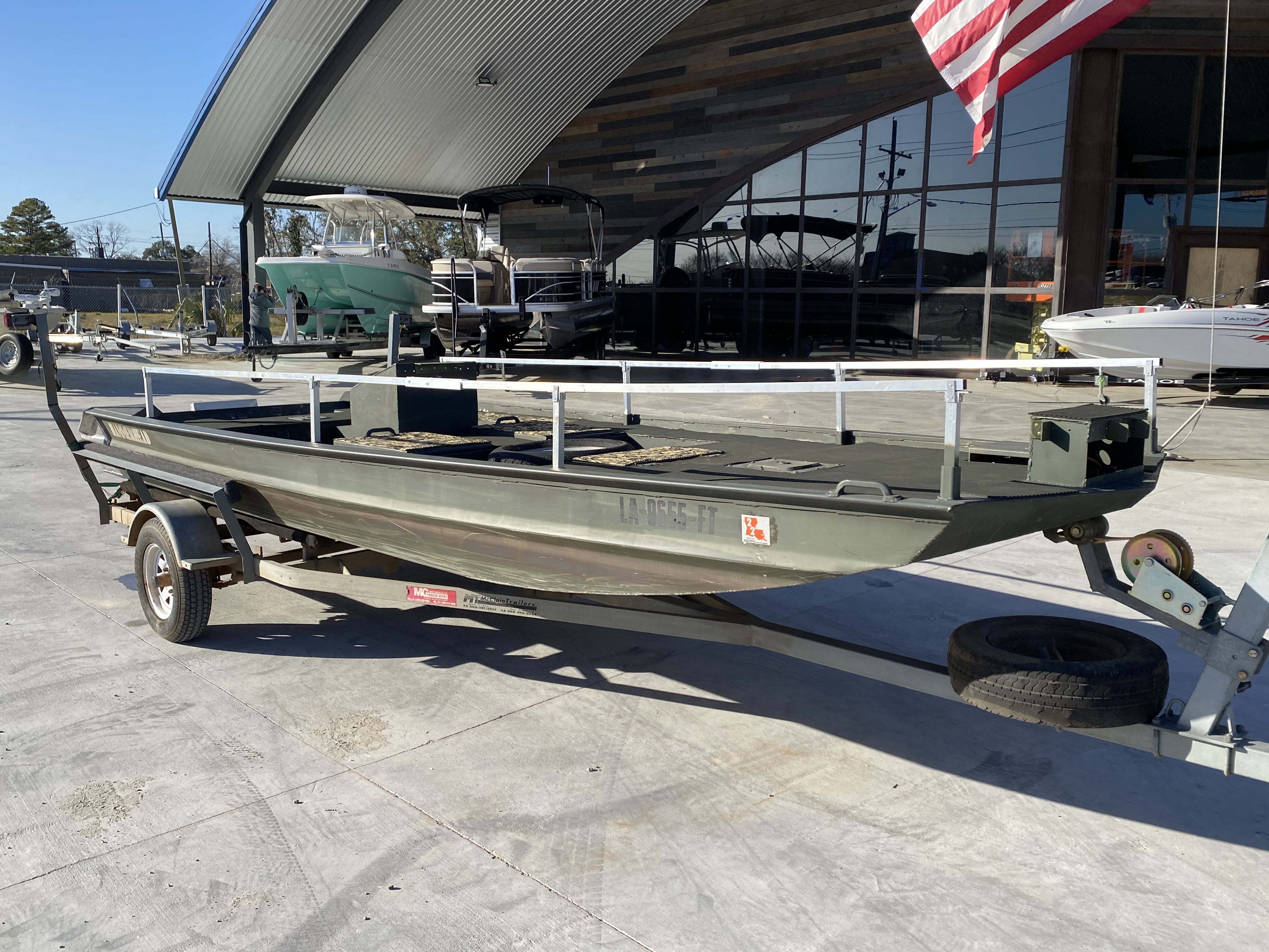 2009 Custom boat for sale, model of the boat is 1860 HULL & TRAILER & Image # 4 of 11