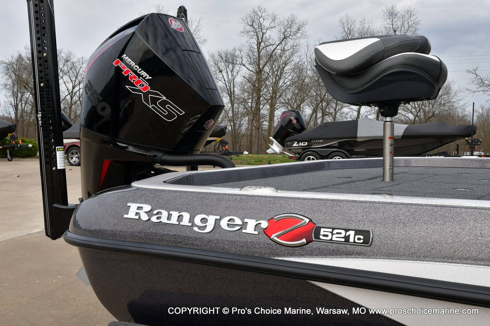 2021 Ranger Boats boat for sale, model of the boat is Z521C Ranger Cup Equipped & Image # 12 of 50
